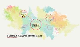 QUímica Cuarto medio 2018