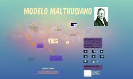 Modelo Malthusiano