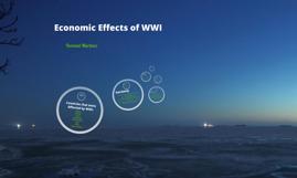WWI Economics