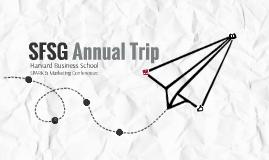 2016 SFSG Annual Trip