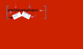 erfelijksheidproject