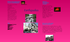 Geography Project- On Earthquakes