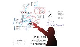 Phil 100 Syllabus - spring 2013