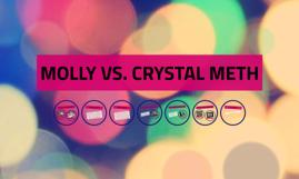 Meth Vs Molly Crystals