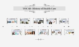 VOCAB- History of Health Care