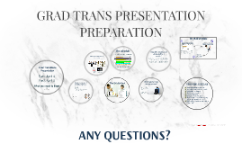 Grad Transitions Presentation