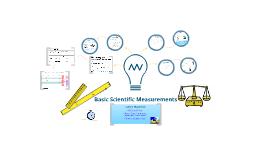 Basic Scientific Measurements