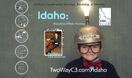 Executive Officer Training: Idaho