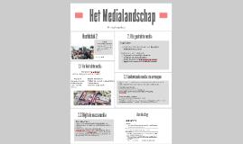 H2 KGT H3+4 BB Massamedia  Het Medialandschap
