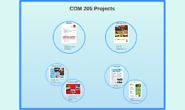 Copy of COM 205 Projects