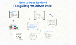 Finding & Using Peer-Reviewed Articles