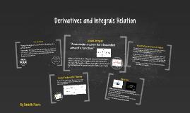 Derivatives and Integrals