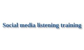 Getronics Social media listening training
