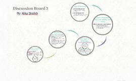 Discussion Board 3