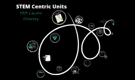 STEM Elementary: How to develop a STEM Centric Unit
