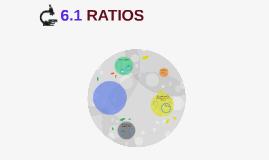 6.1 RATIOS