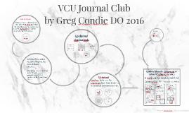 VCU Journal Club