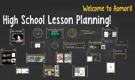 17 SHS Lesson Plan