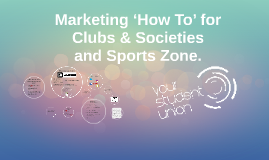 Marketing 'How To' for