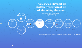 Copy of The Service Revolution and the Transformation of Marketing S