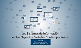 Los Sistemas de Información en los negocio Globales Contempo