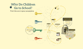Why Do Children go to school?