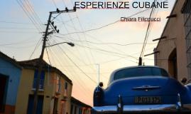 ESPERIENZE CUBANE