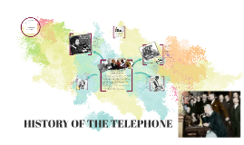 Copy of HISTORY OF THE TELEPHONE