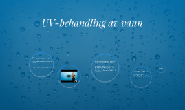 UV-behandling av vann