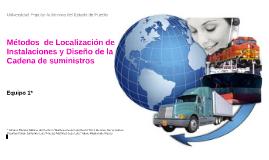 Métodos  de Localización de Instalaciones y Diseño de la Cad