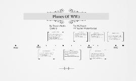 WW2 Planes timeline