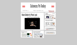 Press Review - Content Creation. Hacked Celebrities