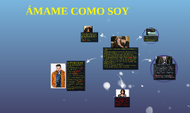 ÁMAME COMO SOY