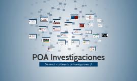 POA Investigaciones 1