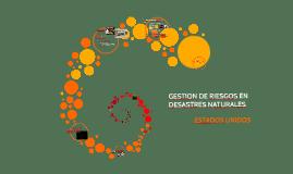 GESTION DE RIESGOS EN DESASTRES NATURALES