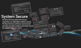 System Security P2 & P3
