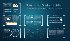 Staach, Inc. Marketing Plan MSFS 6040