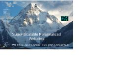 Super-scaleable personalized sites using Akamai, Javascript,
