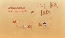 Sínteses: Camillo Boito e Alois Riegl