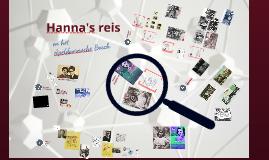 Copy of Hanna's reis voor CODA Junior