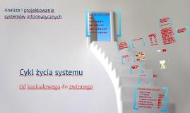 APSI - cykl życia systemu