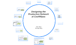 Copy of Designing the Production Network at CoolWipes