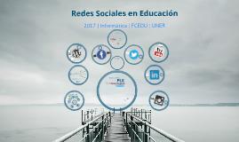 RRSS y Educación- Informática FCEDU
