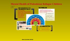 Determinants of Mental Health (Palestinian/Israeli conflict)