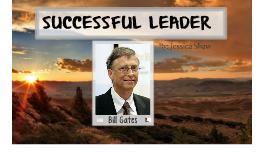 Bill Gates Successful Leader