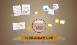 Copy of Google Analytics Start!
