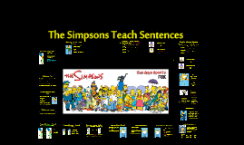 Sentence Structures With