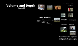 Copy of Building Depth on a Flat Screen