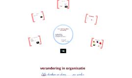 Verandering in organisaties