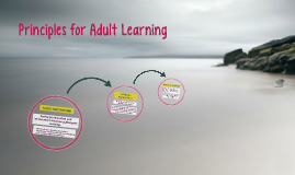 Principles for Adult Learning